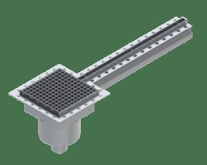 Paslanmaz çelik slot kanalları